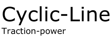 Cyclic-Line Traction-power